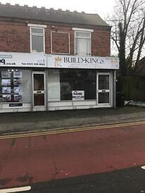 Retail / office space with light up sign board in a thriving area Halesowen Rowley Regis