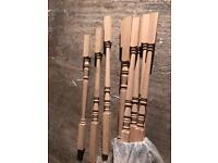 White Oak spindles