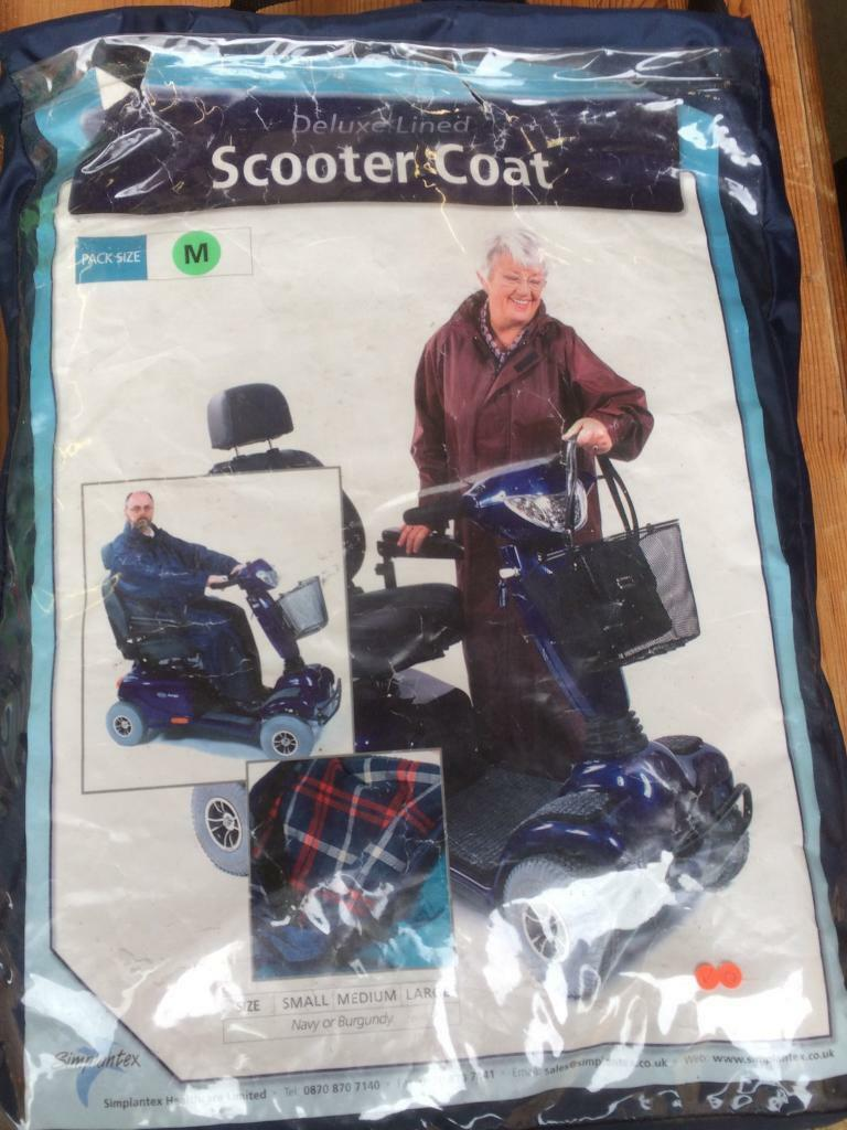 Mobility scooter coat M