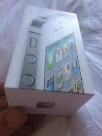 I phone 4S 16 GB White. Used by like new.