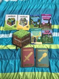 Mine craft books.