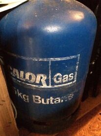 Gas canister (Calor) 15kg almost full