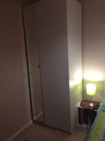 Ikea Pax hinged wardrobe in excellent condition
