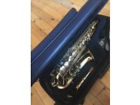 JUPITER SAXAPHONE unfortunately my son HARDLY USED it :( EXCELLENT CONDITION