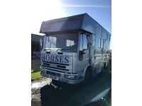 Iveco 7.5 tonne Horsebox short wheel base