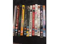 12 DVD's for £5 or £1 each