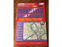 Local Street Atlas for Mansfield and Sutton in Ashfield