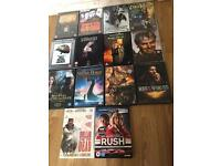 34 dvd's
