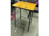 Old school stool vintage