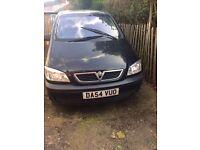 Vauxhall zafira 2005 , manual petrol. £995