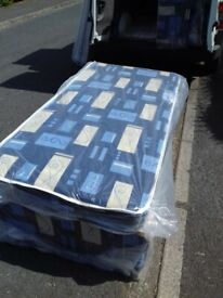 Brand New Single Comfy Basic Bed set Mattress and Base FREE delivery
