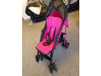 chicco pushchair like new condition