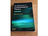 An Introduction To Criminological Theory - Roger Burke