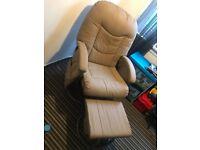 Nursing chair plus stool