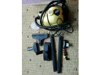 Steam cleaner with attachments