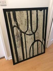 Large canvas ikea picture