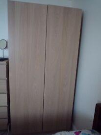 Wardrobe - Oak Veneer £95