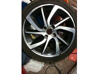Alloy Wheel Citroen DS3