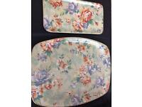 Arnold Designs Fibre Glass Large And Small Floral Tray