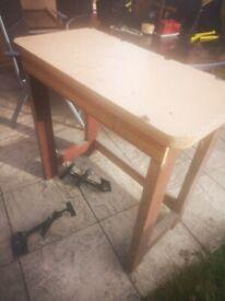 Free homemade workbench
