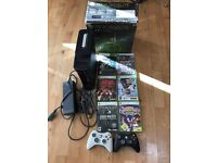 XBox 360 Elite 120GB + 6 games