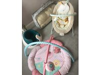 Baby seat, chair, full body pillow, play mat