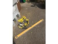 Stanley hand tools and spirit box level bundle - new