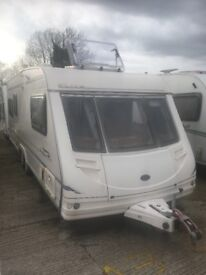 Sterling Eccles Elite Trekker twin axle caravan