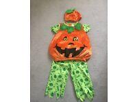 Pumpkin Halloween Set - 3 piece - 1-1.5 year