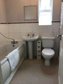 White Bathroom Suite (Twyford) - Free