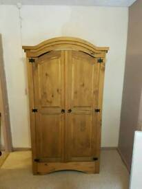 Pine chest of drawers and/or wardrobe