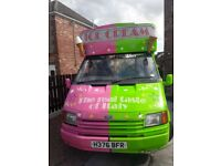 Ford transit scoop ice cream van 2.5 diesel