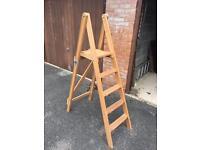 Wooden step ladder new £50