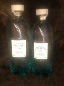 Two Harris gin bottles