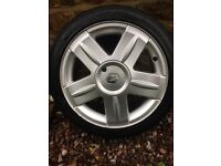 """***REDUCED*** Renault Clio 172 16"""" alloy wheels ***NEW TYRES***"""