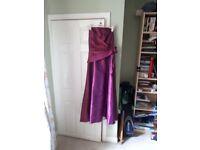 Bridesmaid/Prom dress, size 10/12. Cerise...worn once