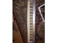 M audio 88 key midi keyboard, keystation 88es