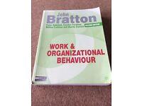Work and Organisational Behaviour second edition by John Bratton