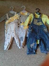Boys clothes bundle 3-6 months