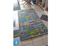 Road play rug