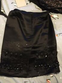 Satin skirt size 12