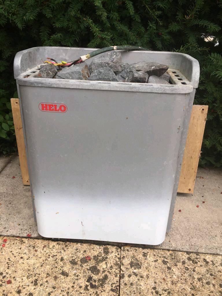 sauna heater (electric)