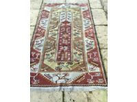 Genuine hand woven Turkish carpet