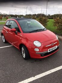 Fiat 500cc 1.4 convertible (60 plate)