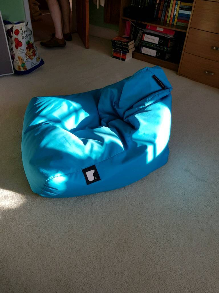 Admirable Mighty B Bright Blue Fun Size Bean Bag Chair In Sea Mills Bristol Gumtree Dailytribune Chair Design For Home Dailytribuneorg