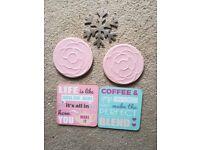 Drinks Coasters x 5