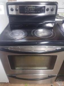 Alternative Appliance whirlpool glasstop stainless convection stove
