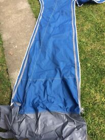 Tuscany Pyramid 950 Awning. Selling due to fire. Cost £400, first £200 and it's gone.