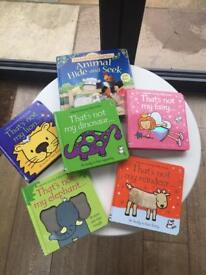 Usborne selection of 'That's Not My...' children's books