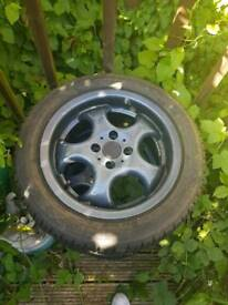 "15"" EMR alloy wheels with 4 brand new tyres"
